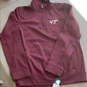 ⭐️NWT Virginia Tech Kids 1/2 ZIP Sweatshirt